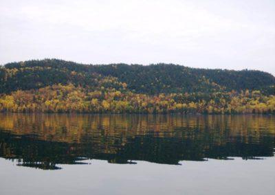 Autumn Mountain Reflection